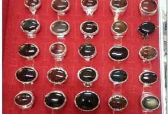 مجموعة خواتم من العقيق اليمني الكبدي والمصور والسليماني مروحنين بالكامل|افضل واقوى واشهر شيخة روحانية أم يوسف0096171137681